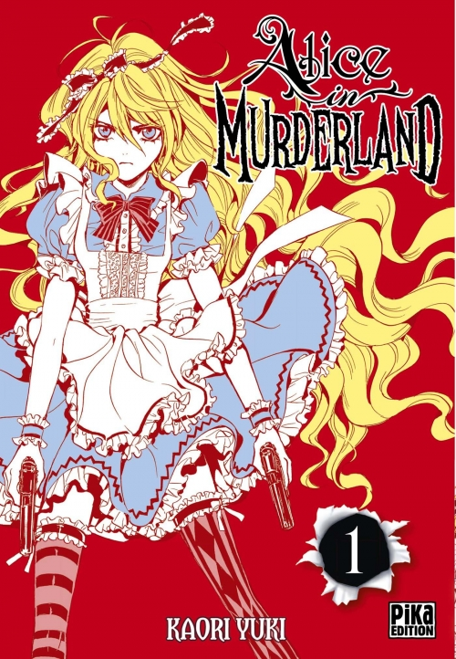 Couverture Alice in Murderland, tome 1