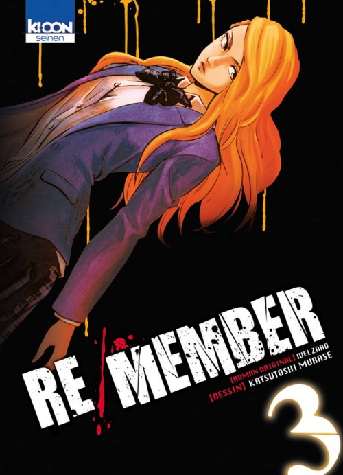 Couverture Re/Member, tome 3