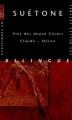 Couverture Vies des douze Césars Editions Les belles lettres (Classiques en poche bilingue) 2010