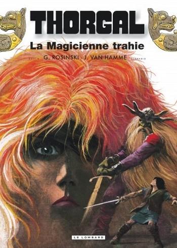 Couverture Thorgal, tome 01 : La Magicienne Trahie