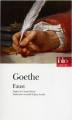 Couverture Faust Editions Folio  (Théâtre) 2015