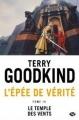 Couverture L'épée de vérité, tome 04 : Le temple des vents Editions Milady 2016