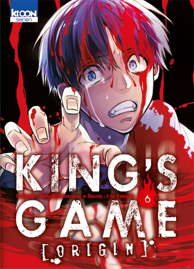 Couverture King's Game Origin, tome 6