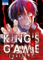 Couverture King's Game Origin, tome 6 Editions Ki-oon (Seinen) 2016