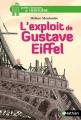 Couverture L'exploit de Gustave Eiffel Editions Nathan (Petites histoires de l'Histoire) 2016