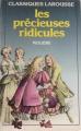 Couverture Les Précieuses ridicules Editions Larousse (Classiques) 1970