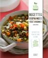 Couverture Recettes gourmandes végétariennes: 50 recettes pour se faire du bien Editions First 2015