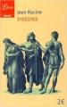 Couverture Phèdre Editions Librio (Théâtre) 2016