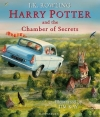 Couverture Harry Potter, illustrée, tome 2 : Harry Potter et la chambre des secrets Editions Bloomsbury 2016