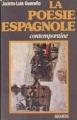 Couverture La poésie espagnole contemporaine Editions Seghers 1977