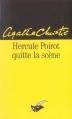 Couverture Hercule Poirot quitte la scène Editions du Masque 2000