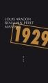 Couverture 1929 Editions Allia (Petite Collection) 2014