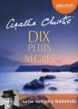 Couverture Dix petits nègres Editions Audiolib 2016