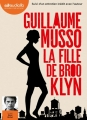 Couverture La Fille de Brooklyn Editions Audiolib 2016