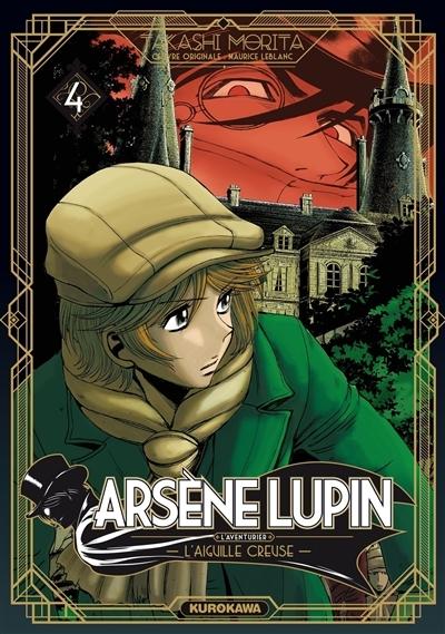 Couverture Arsène Lupin, L'aventurier, tome 4 : L'aiguille creuse : 2ème partie