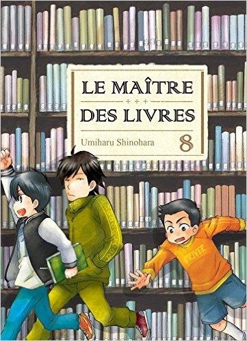 Couverture Le maître des livres, tome 08