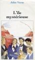 Couverture L'île mystérieuse Editions Carrefour 1994