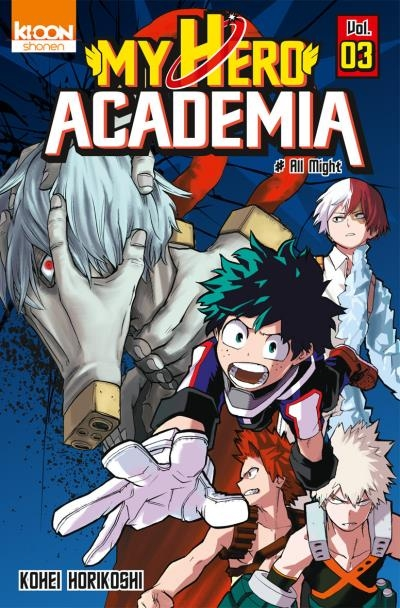 Couverture My Hero Academia, tome 03