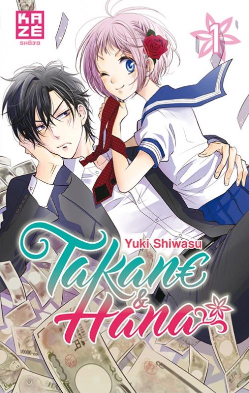 Couverture Takane & Hana, tome 01