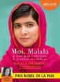 Couverture Moi, Malala Editions Audiolib 2016