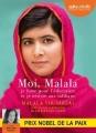 Couverture Moi, Malala Editions Audiolib 2016