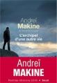 Couverture L'archipel d'une autre vie Editions Seuil (Cadre rouge) 2016