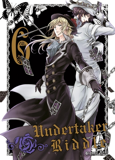 Couverture Undertaker Riddle, tome 6