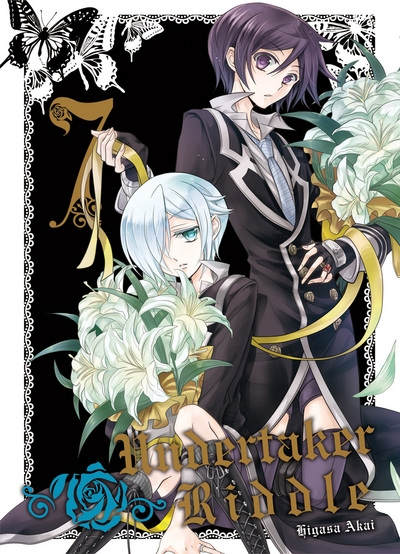Couverture Undertaker Riddle, tome 7