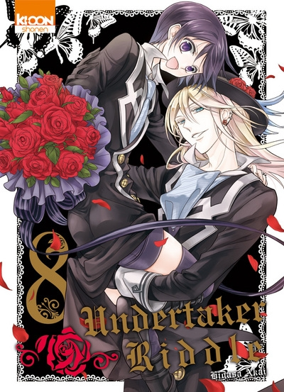 Couverture Undertaker Riddle, tome 8