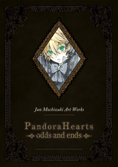 Couverture Pandora Hearts : Artbook, tome 1 : Odds and Ends