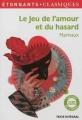 Couverture Le jeu de l'amour et du hasard Editions Flammarion (GF - Etonnants classiques) 2012