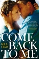 Couverture Come back to me Editions Macmillan 2014