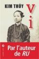Couverture Vi Editions Liana Lévi (Littérature française) 2016