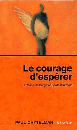 Couverture Le courage d'espérer