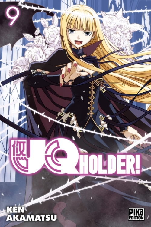 Couverture UQ Holder !, tome 09