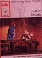 Couverture L'avare Editions Bordas (Univers des lettres) 1972