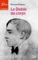 Couverture Le diable au corps Editions Librio (Littérature) 2014