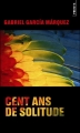 Couverture Cent ans de solitude Editions Points 2014