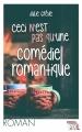 Couverture Ceci n'est pas qu'une comédie romantique Editions Jourdan 2016