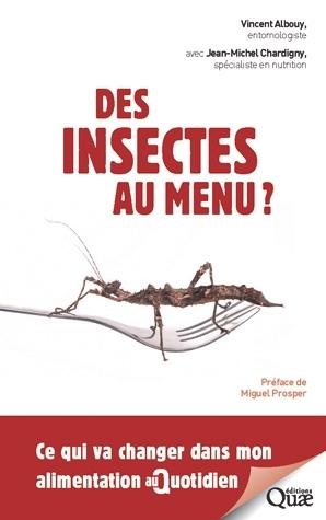 Couverture Des insectes au menu ?