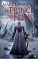Couverture La Reine Rouge, tome 1 : Le Prince des Fous Editions Bragelonne (Fantasy) 2014
