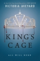 Couverture Red queen, tome 3 : King's Cage Editions HarperTeen 2017