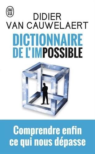 Couverture Dictionnaire de l'impossible