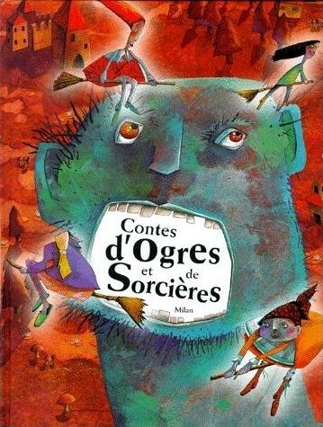 Couverture Contes d'Ogres et de Sorcières