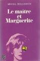 Couverture Le maître et Marguerite Editions Robert Laffont 1968
