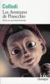 Couverture Les aventures de Pinocchio  Editions Folio  (Classique) 2016