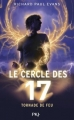 Couverture Le cercle des 17, tome 5 : Tornade de feu Editions Pocket (Jeunesse) 2016