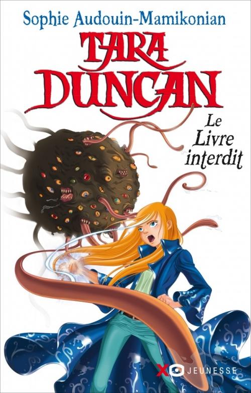 Couverture Tara Duncan, tome 02 : Le livre interdit