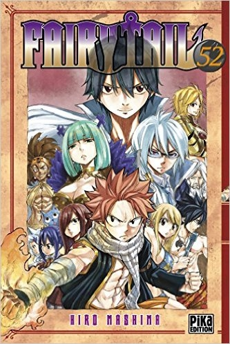 Couverture Fairy Tail, tome 52