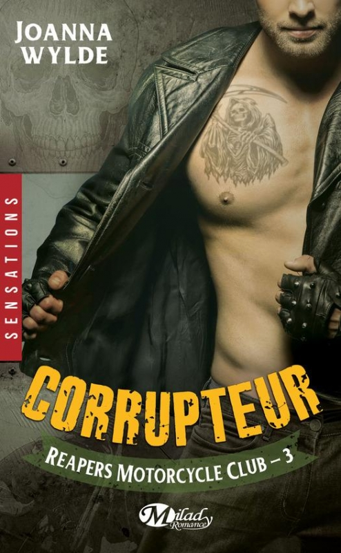 Couverture Reapers motorcycle club, tome 3 : Corrupteur
